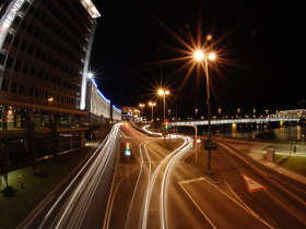 Linz bei Nacht / Flickr Creative Common Licence