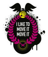 Logo I like to move it move it